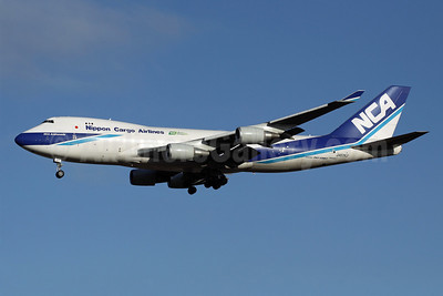 NCA-Nippon Cargo Airlines Boeing 747-4KZF JA07KZ (msn 36134) NRT (Michael B. Ing). Image: 908889.