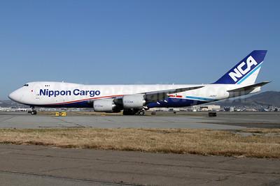 NCA-Nippon Cargo Airlines Boeing 747-8KZF JA12KZ (msn 36137) SFO (Mark Durbin). Image: 911885.