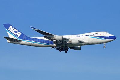 NCA-Nippon Cargo Airlines Boeing 747-4KZF JA06KZ (msn 36133) BKK (Michael B. Ing). Image: 938309.