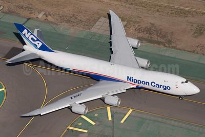 NCA-Nippon Cargo Airlines Boeing 747-8KZF JA11KZ (msn 36136) LAX (Wingnut). Image: 922437.
