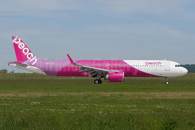 First Airbus A321, to become JA901P