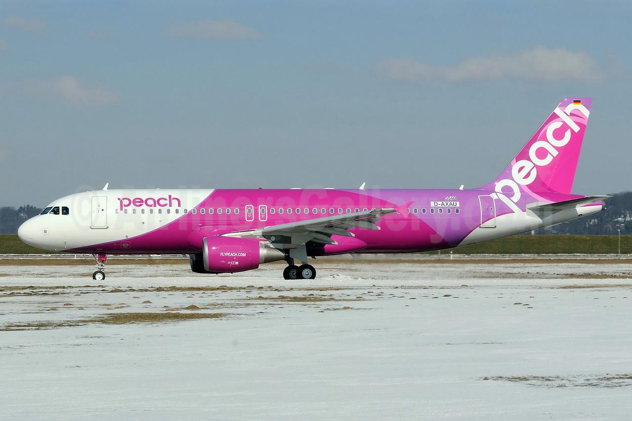 Peach Aviation (Japan) Airbus A320-214 D-AXAU (JA808P) (msn 5540) XFW (Gerd Beilfuss). Image: 911540.