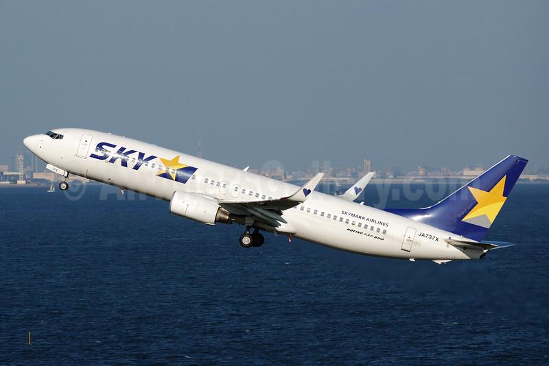 SKY-Skymark Airlines Boeing 737-8AL WL JA737X (msn 36692) HND (Akira Uekawa). Image: 906484.