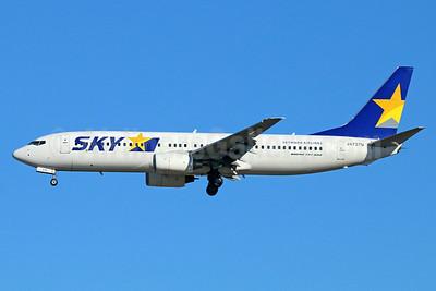 SKY-Skymark Airlines Boeing 737-8HX JA737N (msn 36845)  NRT (Michael B. Ing). Image: 923662.