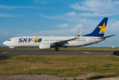 SKY-Skymark Airlines Boeing 737-8HX WL JA73NL (msn 38104) HNL (Ivan K. Nishimura). Image: 908025.