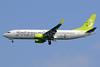 Solaseed Air Boeing 737-86N WL JA805X (msn 38035) HND (Akira Uekawa). Image: 920915.