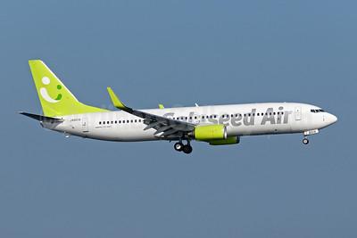 Solaseed Air Boeing 737-81D WL JA801X (msn 39415) HND (Akira Uekawa). Image: 906840.