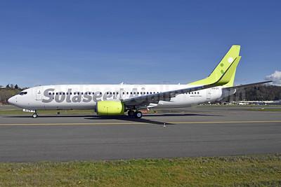 Solaseed Air Boeing 737-86N WL JA812X (msn 43402) BFI (Steve Bailey). Image: 926968.