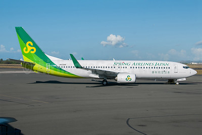 Spring Airlines Japan Boeing 737-86N WL JA03GR (msn 41272) HNL (Ivan K. Nishimura). Image: 922533.