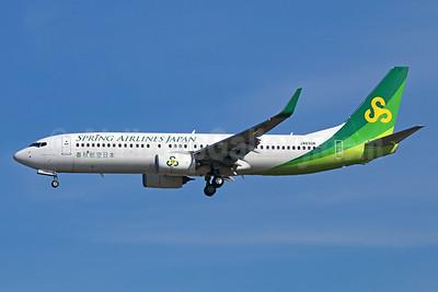 Spring Airlines Japan Boeing 737-86N WL JA03GR (msn 41272) NRT (Michael B. Ing). Image: 924840.