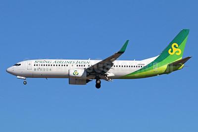 Spring Airlines Japan Boeing 737-800 WL JA04GR (msn 61776) NRT (Michael B. Ing). Image: 940413.