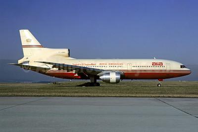 Alia-Royal Jordanian Lockheed L-1011-385-3 TriStar 500 JY-AGC (msn 1220) ORY (Jacques Guillem). Image: 944427.