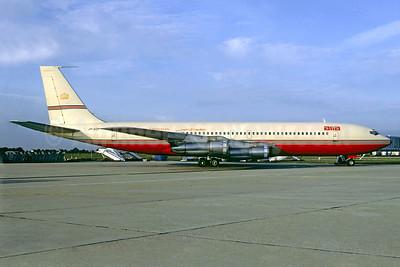 Alia-Royal Jordanian Boeing 707-3D3C JY-ADP (msn 20495) ORY (Christian Volpati). Image: 921851.