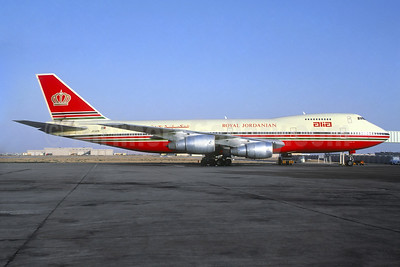 Alia-Royal Jordanian Airline Boeing 747-2D3B JY-AFA (msn 21251) AMM (Christian Volpati Collection). Image: 938008.