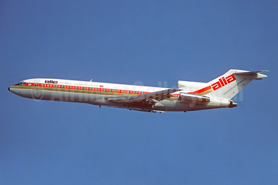Alia-The Royal Jordanian Airline Boeing 727-2D3 JY-ADV (msn 21021) ATH (Jacques Guillem Collection). Image: 934160.