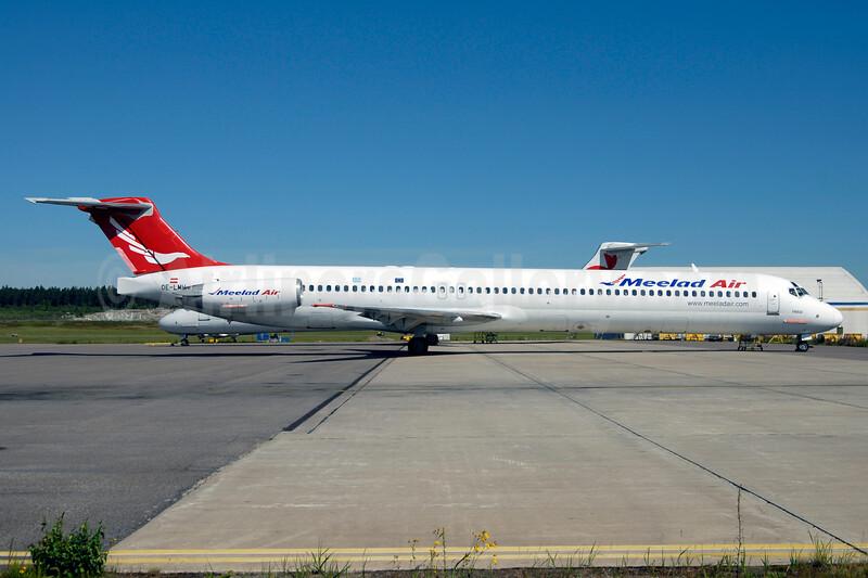 Meelad Air McDonnell Douglas DC-9-83 OE-LMH (msn 49933) ARN (Ton Jochems). Image: 926885.