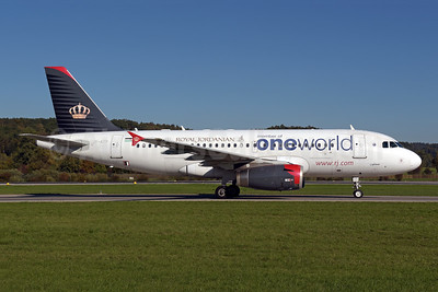 Royal Jordanian Airlines Airbus A319-132 JY-AYP (msn 3832) (Oneworld) ZRH (Rolf Wallner). Image: 943816.