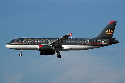 Royal Jordanian Airlines Airbus A320-232 F-OHGV (msn 2649) FRA (Bernhard Ross). Image: 900704.