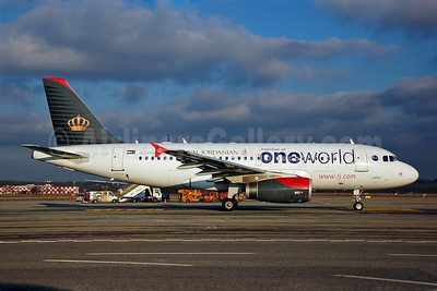 Royal Jordanian Airlines Airbus A319-132 JY-AYP (msn 3832) (Oneworld) MXP (Giorgio Ciarini). Image: 904677.