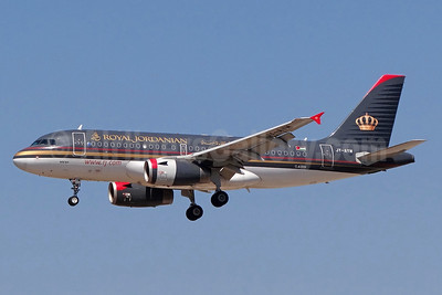 Royal Jordanian Airlines Airbus A319-132 JY-AYM (msn 3685) FRA (Paul Bannwarth). Image: 939947.