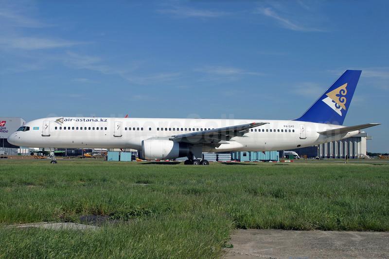 Air Astana (air-astana.kz) Boeing 757-2G5 P4-GAS (msn 28112) LHR (Antony J. Best). Image: 928864.