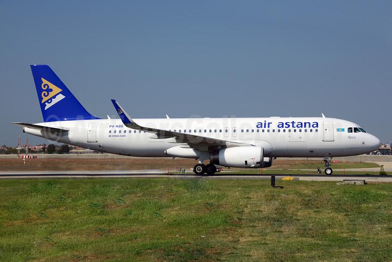 Air Astana Airbus A320-232 WL P4-KBB (msn 5613) IST (Ton Jochems). Image: 913666.