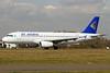 Air Astana Airbus A320-232 P4-PAS (msn 2128) SEN (Keith Burton). Image: 912027.