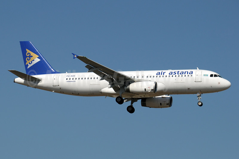 Air Astana Airbus A320-232 P4-XAS (msn 4519) AYT (Paul Denton). Image: 909072.