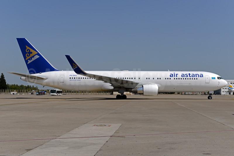 Air Astana Boeing 767-3KY ER WL P4-KEC (msn 42223) AYT (Ton Jochems). Image: 933123.