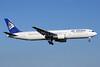 Air Astana Boeing 767-306 ER P4-KCA (msn 27612) AMS (TMK Photography). Image: 913664.