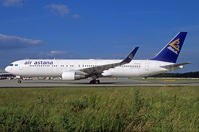 Air Astana Boeing 767-3KY ER WL P4-KEA (msn 42220) FRA (Christian Volpati Collection). Image: 934121.