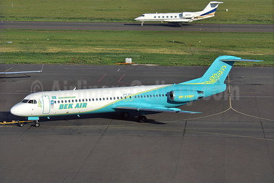 On December 27 2019, a Fokker 100 (UP-F1007) operated by Bek Air as flight Z9 2100, heading to Nur-Sultan, crashed shortly after takeoff from Almaty International Airport.