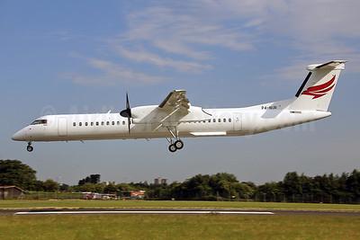 Qazaq Air Bombardier DHC-8-402 (Q400) P4-NUR (msn 4494) SEN (Keith Burton). Image: 928807.