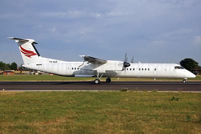 Qazaq Air Bombardier DHC-8-402 (Q400) P4-NUR (msn 4494) SEN (Keith Burton). Image: 928806.