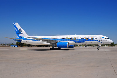 SCAT Airlines (SCAT Air Company) (FlyLAL Charters) Boeing 757-204 LY-FLG (msn 27237) AYT (Ton Jochems). Image: 907589.