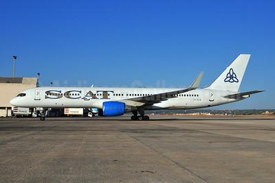 SCAT Airlines (SCAT Air Company) (FlyLAL Charters) Boeing 757-29J WL LY-FLA (msn 27203) PMI (Ton Jochems). Image: 907593.