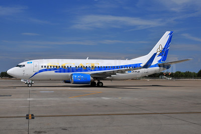 SCAT Airlines (SCAT Air Company) (FlyLAL Charters) Boeing 737-322 WL LY-FLB (msn 24667) AYT (Ton Jochems). Image: 903470