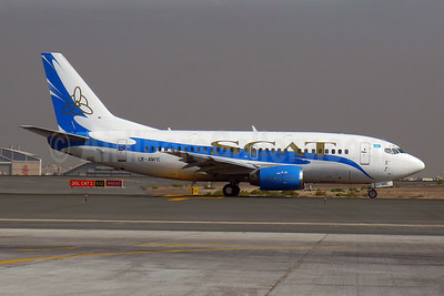 SCAT Airlines (SCAT Air Company) (FlyLAL Charters) Boeing 737-522 LY-AWE (msn 26684) DXB (Konstantin von Wedelstaedt). Image: 901704.