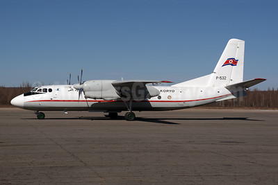 Air Koryo Antonov An-24RV P-532 (msn 47309707) YJS (Rolf Wallner). Image: 944072.
