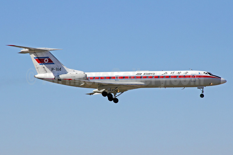 Air Koryo Tupolev Tu-134B-3 P-814 (msn 66368) PEK (Michael B. Ing). Image: 913439.