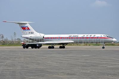 Air Koryo Tupolev Tu-134B-3 P-814 (msn 66368) DSO (Richard Vandervord). Image: 913438.