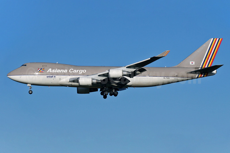 Asiana Cargo (Asiana Airlines) Boeing 747-48EF HL7426 (msn 27603) STN (Pedro Pics). Image: 901852.
