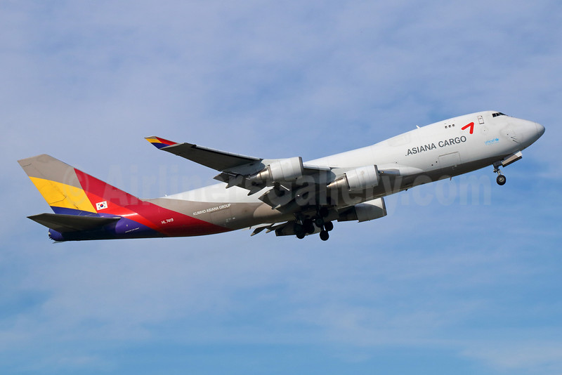 Asiana Cargo (Asiana Airlines) Boeing 747-48EF HL7419 (msn 25781) ANC (Michael B. Ing). Image: 932980.