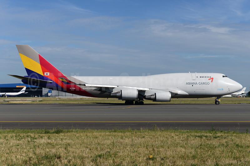 Asiana Cargo (Asiana Airlines) Boeing 747-446F HL7618 (msn 26343) BRU (Ton Jochems). Image: 928870.