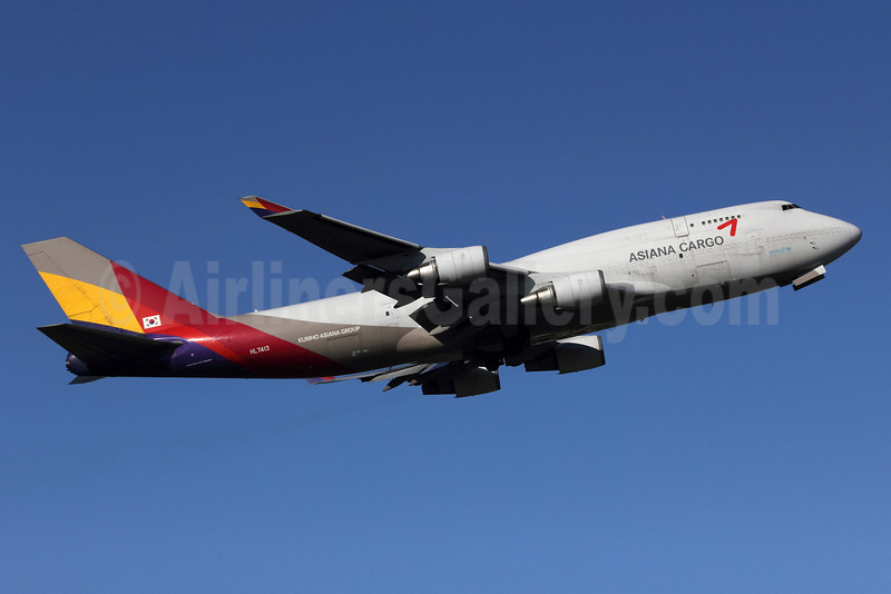 Asiana Cargo (Asiana Airlines) Boeing 747-48EF HL7413 (msn 25405) ANC (Michael B. Ing). Image: 906897.