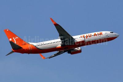Jeju Air Boeing 737-86N WL HL8020 (msn 32683) HKG (Javier Rodriguez). Image: 936159.