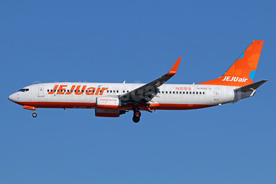 Jeju Air Boeing 737-8AS WL HL8089 (msn 37543) NRT (Michael B. Ing). Image: 940415.