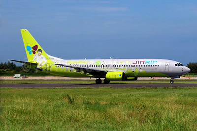 """Jin Air's 2014 """"Green Wings"""" special livery"""