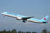 Korean Air Boeing 777-3B5 ER HL8210 (msn 40377) PAE (Nick Dean). Image: 905196.