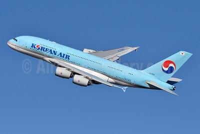 Korean Air Airbus A380-861 HL7615 (msn 075) JFK (Fred Freketic). Image: 944360.